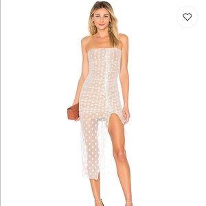 REVOLVE Majorelle - Brady Dress in White